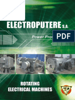 Catalog - Rotating Electrical Machines