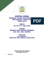 Kertas Kerja Karnival Sukan 2015