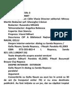 Gelu Naum - Despre Interior - Exterior, Dialog Cu Sanda Rosescu