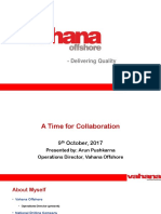 A Time to Collaborate - Vahana Offshore