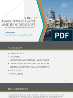 Offshore New Build Market Worldwide - Emirates Zone