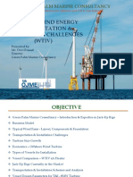 Wind Farm Challenges Green Palm Marine Consultancy