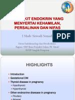 Endocrine Disease in Pregnancy