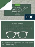 Exposición Unidad 6 Gestion Estrategica Frank Rocio Felipe