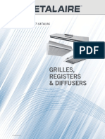 Grilles Registers Diffusers Catalogs 15819
