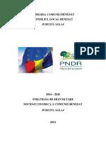 Plan Strategic Comuna Benesat, SJ - 2014-2020