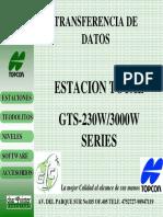8.- Manejo de  Estacion Total Topcon Transferir Datos.pdf