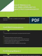 Seminar Pengkajian & Evaluasi