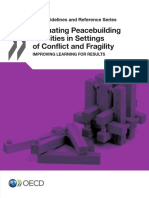 OECD - Evaluating Peacebuilding in Conflict