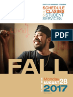 ELAC Fall 2017 Classes