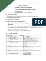 0 - COMP 410 Course Outline