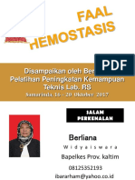Faal Hemostasis Baru