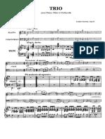 Farrenc Trio Op45 Piano
