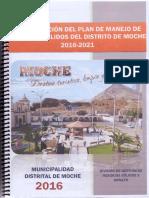 Actualizacion Plan Manejo Rrs Moche 2016-2021