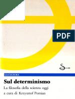 Krzysztof Pomian Sul determinismo. La filosofia della scienza oggi.pdf