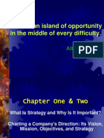 Chapter 1 & 2- Strategy & Why is It Important & Process of Strategy