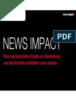 NEWS IMPACT – Eine repräsentative Studie zur Bedeutung von Nachrichtenumfeldern und -medien