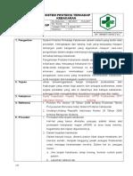 8.5.1.3 SOP Sistem Proteksi Terhadap Kebakaran