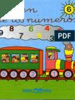 El Tren de Los Números 6 Infantil