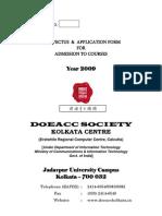 Doeacc Prospectus