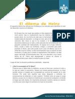 4. Actividad Unidad 2 El Dilema de Heinz Diego G