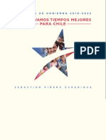 Programa de gobierno de Sebastián Piñera.