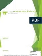 Programação Para Android 05_Spinner e ListView