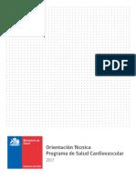 Programa de Salud Cardiovascular. MINSAL Chile 2017