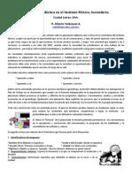 Planeacion Didactica Inst Mexico