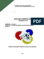 MECANICAX TEHNOLOGII IN OBTINEREA SI PRELUCRAREA METALELOR.doc