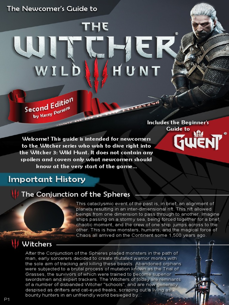 The witcher 3 pdf | Leisure | Food & Wine