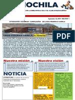Modelo de Periodico Escolar