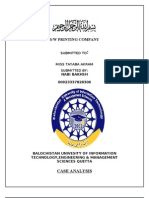 Case Study of s w Printing Company