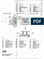 ABM Terminal Box of Motor Part List en de FR