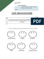 Guías de Orientación - Las Emociones.