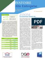 Observatoire de la petite entreprise n°66 FCGA - Banque Populaire