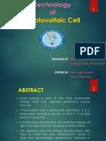 Solar_Presentation for Tekviden 2014 by Nirav