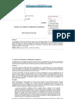 Revista de Investigación Scientia - Técnicas de Estudio y Rendimiento Académico
