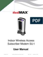 RedMAX Subscriber Indoor SU-I UserManual