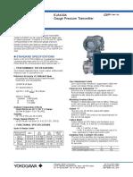 Gauge Pressure Transmitter