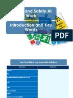 HS Intro Key Worksheet