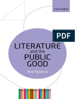 Literature and the Public Good_ - Rick Rylance