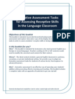 Formative Assessment Booklet Final
