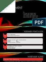 PPT Asesmen Psikopatologi [Autosaved]