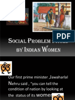 19.Social Problems Faced by Indian Women