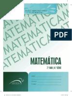 Matematica 7 Ano - 6 Serie Unidade 1 L1