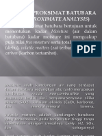 Analisis Proksimat Batubara