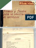 Normas y Diseños Para La Construcción de Carreteras