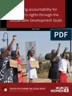 Sdgs Accountability Womens Rights