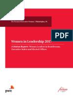 2017 Women in Leadership Report